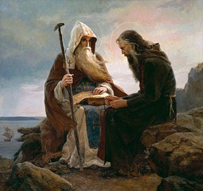 Ucenicul trebuie să primească cu zel toate cele venite de la învăţător, fiind folositoare, chiar de aduc tristeţe şi durere; căci, potrivit cu osteneala şi necazurile lui, Dumnezeu îi dă şi mila Sa – part.1